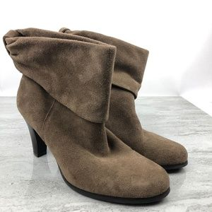 BCBGeneration Brown Suede Ankle Boots